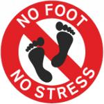 No Foot, No Stress, No Problem
