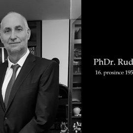 PhDr. Rudolf Půlpán rozloučení