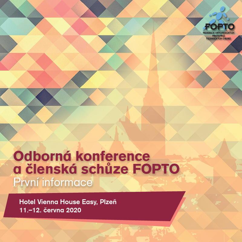 FOPTO 2020 Plzeň - první informace