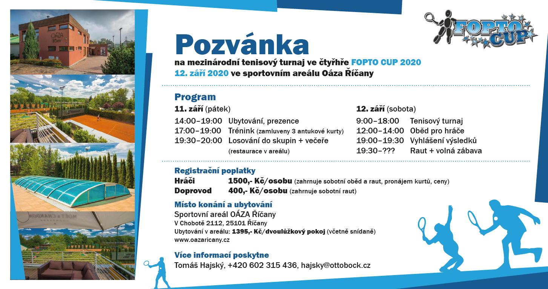 Pozvánka na FOPTO Cup 2020